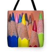 Color Pencil Tote Bag