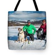 Colorado Cross Country Skiing Tote Bag