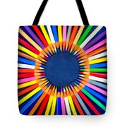 Colorful Pencils Tote Bag