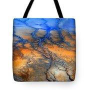 Colorful Runoff Tote Bag