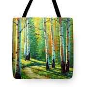 Colors Of The Season Tote Bag