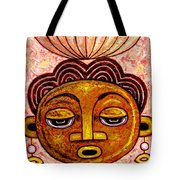 Congalese Face 2 Tote Bag