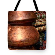 Copper Pots Tote Bag
