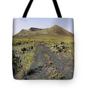 Corona Volcano On Lanzarote Tote Bag