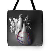 Coronary Vessels Tote Bag