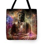 Cosmic Buddha Tote Bag