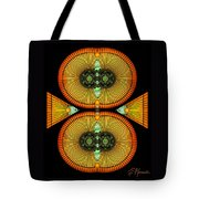 Cosmic Mitosis Tote Bag