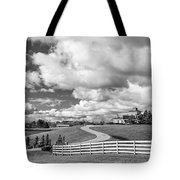 Country Living Bw Tote Bag
