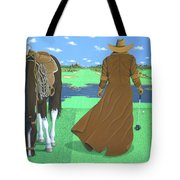 Cowboy Caddy Tote Bag