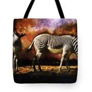 Creation Zebra Tote Bag