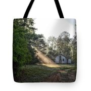 Crepuscular Rays In Alabama Tote Bag