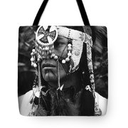 Crow Native American Traditional Dress Rodeo Gallup New Mexico 1969 Tote Bag