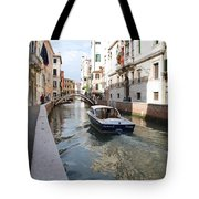Cruisin' The Canals Tote Bag