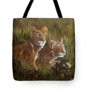Curious Anticipation Tote Bag
