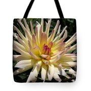 Dahlia Named Camano Ariel Tote Bag