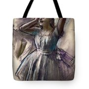 Dancer Stretching Tote Bag