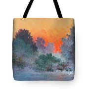 Dawn Mist Tote Bag