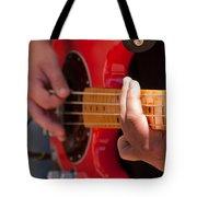 Bass Playing - Denver Tote Bag