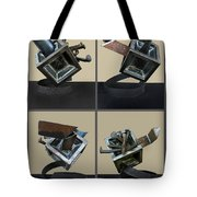 Derailed Boxcar Tote Bag
