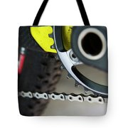 Detail Of A Transmition System Tote Bag
