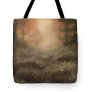 Dew Drenched Furze  Tote Bag