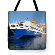 Diagoras Ferry Symi Tote Bag