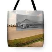 Dining Hall At Sakonnet Point In Little Compton Ri Tote Bag