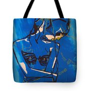 Dinka Painted Lady - South Sudan Tote Bag