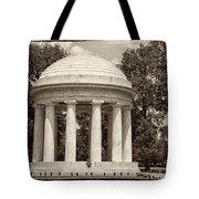 District Of Columbia War Memorial Tote Bag