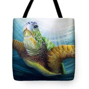 Diving The Depths Tote Bag