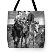 Doctor And Patient Tote Bag