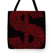 Dollar People Icon Tote Bag
