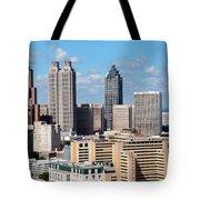 Downtown Atlanta Tote Bag