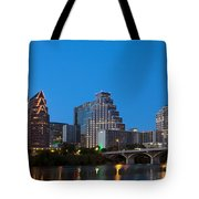 Downtown Austin Skyline Tote Bag