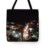 Downtown Morgantown From Above Tote Bag