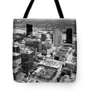 Downtown Skyline Of Toledo Ohio Tote Bag
