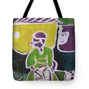 Drummer Boy In The Town Tote Bag