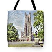 Duke Chapel In Spring Tote Bag