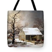 Durrie's Winter In The Country Tote Bag