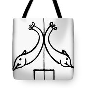 Early Christian Symbol Tote Bag