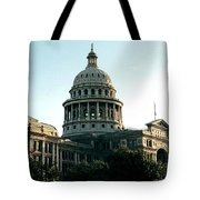 Early Morning At The Texas State Capital Tote Bag