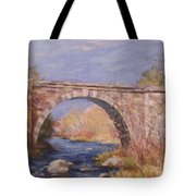 Early Spring At The Trestle Tote Bag