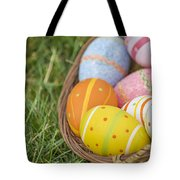 Easter Eggs Tote Bag