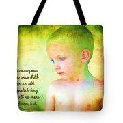Ecclesiastes 4 13 Tote Bag