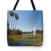 Echo Park L A  Tote Bag