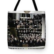 Eisenhower Inauguration Tote Bag