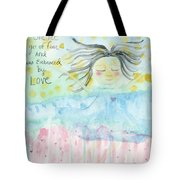 Embraced By Love Tote Bag