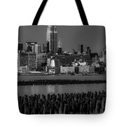 Empire State Building Dressed Up In Pastels Tote Bag