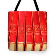 Encyclopedia Tote Bag