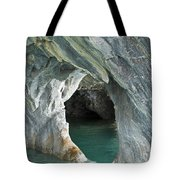 Eroded Marble Shoreline Tote Bag